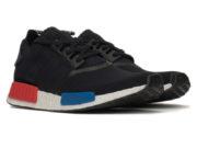 Кроссовки Adidas NMD Runner мужские черные - фото спереди