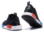 Кроссовки Adidas NMD Runner мужские черные - фото сзади
