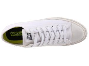 Кеды Converse Chuck Taylor All Star белые мужские - фото сверху