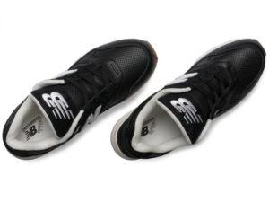 Кроссовки New Balance 530 мужские черные с белым - фото сверху