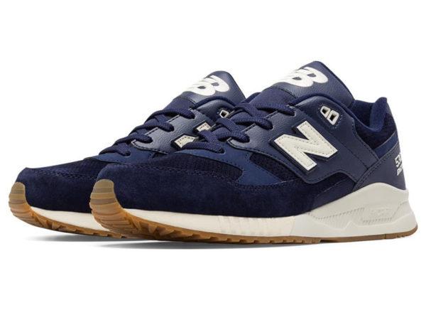 Кроссовки New Balance 530 мужские темно-синие с белым