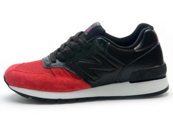 Кроссовки New Balance 670 мужские красно-черные