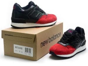 Кроссовки New Balance 670 мужские красно-черные - общее фото