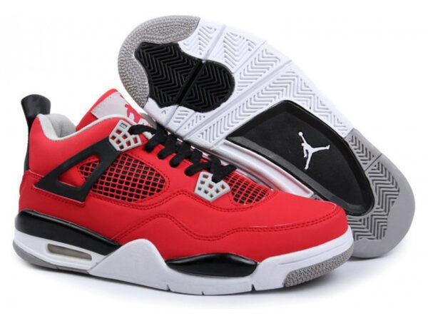 Кроссовки Nike Air Jordan 4 Retro мужские красные