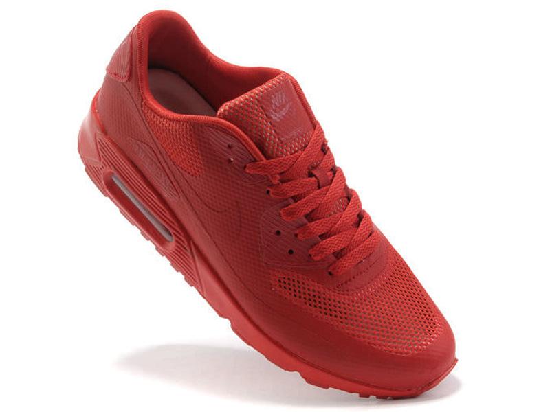 a73b41b7 ... Кроссовки Nike Air Max 90 Hyperfuse мужские красные - фото справа