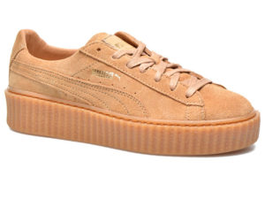 Кроссовки Puma by Rihanna Creeper женские бежевые - фото справа
