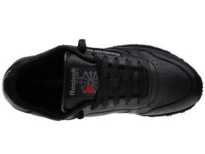 Кроссовки Reebok Classic черные - фото сверху