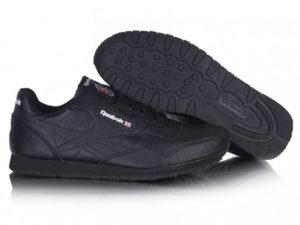Кроссовки Reebok Classic черные - общее фото