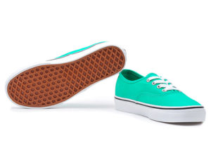 Кеды Vans Authentic женские светло-зеленые - общее фото