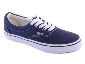Кеды Vans Authentic темно-синие - фото спереди