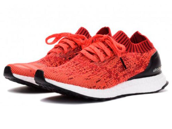 Кроссовки Adidas Ultra Boost мужские красные с черным