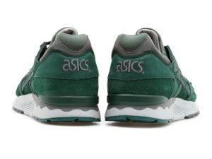 Кроссовки Asics Gel Lyte 5 темно-зеленые мужские - общее фото сзади