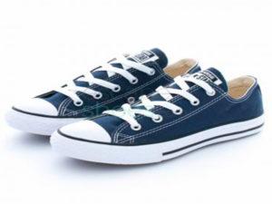 Кеды Converse Chuck Taylor All Star синие - фото спереди