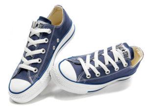 Кеды Converse Chuck Taylor All Star синие - общее фото