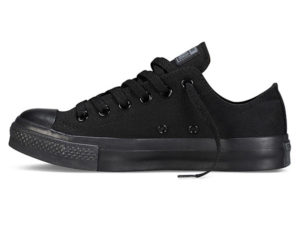 Кеды Converse Chuck Taylor All Star Night черные - фото слева