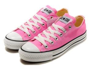 Кеды Converse Chuck Taylor All Star розовые женские - фото спереди