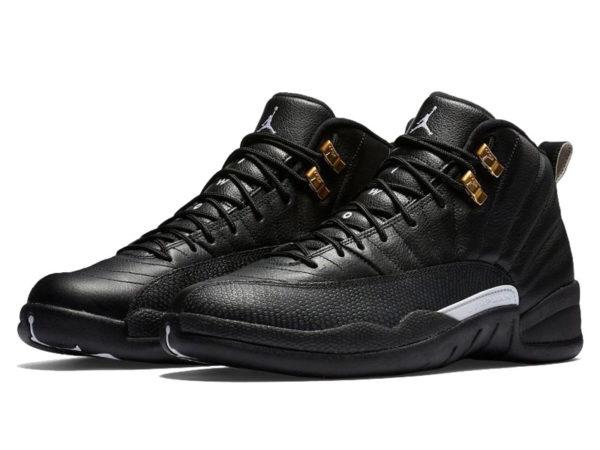 Кроссовки Nike Air Jordan 12 Retro черные мужские