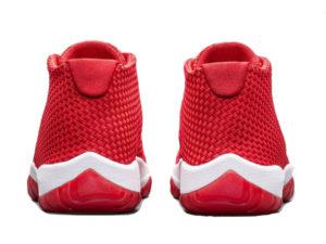 Кроссовки Nike Air Jordan Future красные мужские - фото сзади