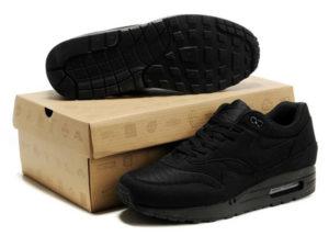 Кроссовки Nike Air Max 87 черные мужские - общее фото