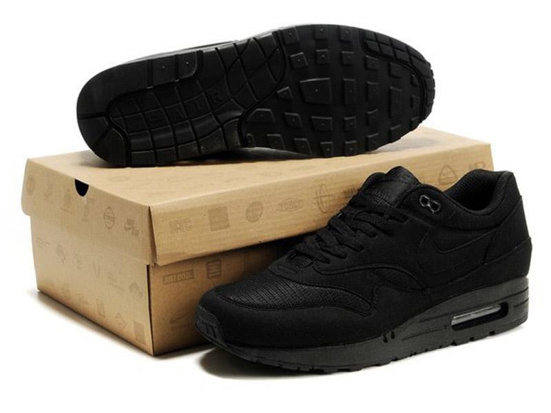 40086bc88169 Кроссовки Nike Air Max 87 черные мужские - купить в интернет ...