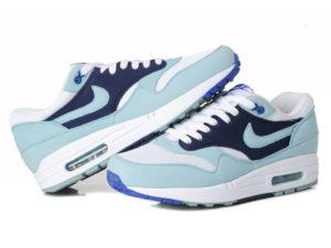 Кроссовки Nike Air Max 87 голубые с синим женские - общее фото