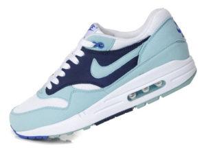 Кроссовки Nike Air Max 87 голубые с синим женские - фото слева