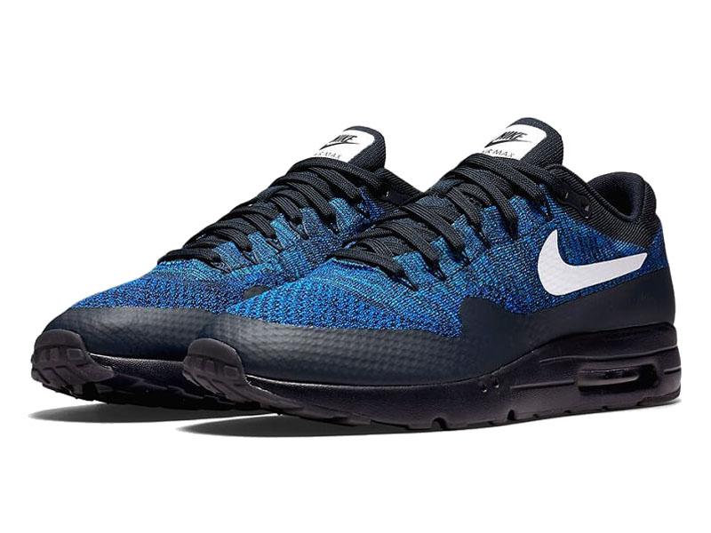 Кроссовки Nike Air Max 87 синие с черным мужские