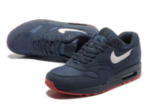 Кроссовки Nike Air Max 87 темно-синие мужские - фото сверху