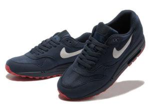 Кроссовки Nike Air Max 87 темно-синие мужские - общее фото