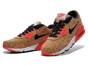 Кроссовки Nike Air Max 90 пробковые - фото спереди