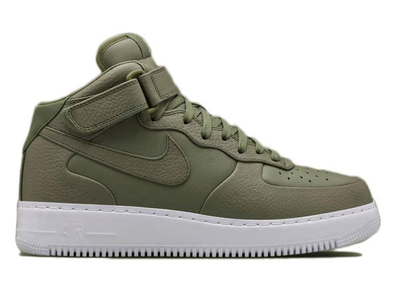 Кроссовки Nike Air Force 1 Mid болотные