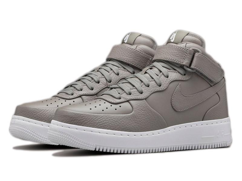 Кроссовки Nike Air Force 1 Mid серые