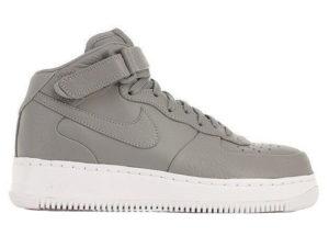 Кроссовки Nike Air Force 1 Mid серые - фото справа