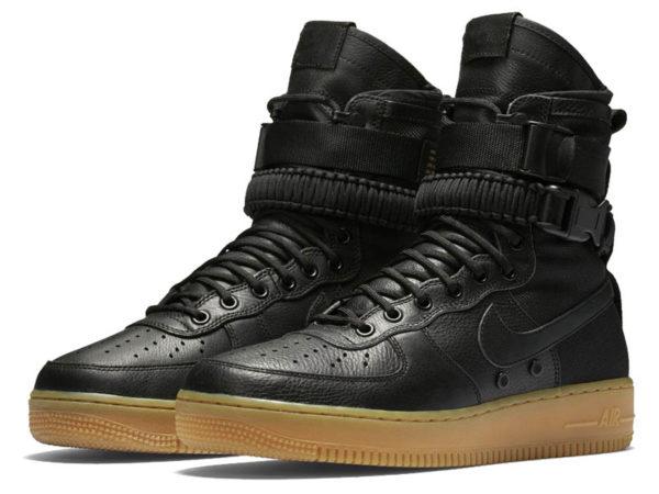 Кроссовки Nike Air Force 1 Special Field черные мужские