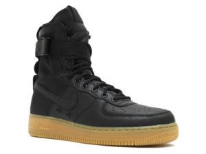Кроссовки Nike Air Force 1 Special Field черные мужские - фото справа
