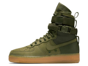Кроссовки Nike Air Force 1 Special Field зеленые мужские - фото слева