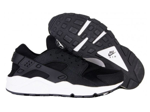 Кроссовки Nike Air Huarache Ultra черные с белым мужские