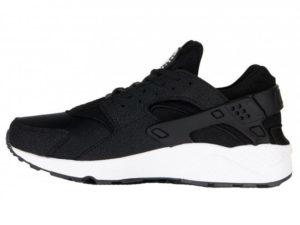 Кроссовки Nike Air Huarache Ultra черные с белым мужские - фото слева
