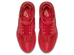 Кроссовки Nike Air Huarache Varsity красные мужские - фото сверху
