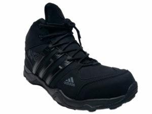 Зимние Adidas Terrex Outdoor черные - фото спереди