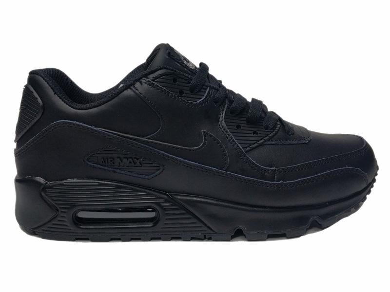 dd179cde Купить Nike Air Max 90 VT Low Winter Black кожаные зимние с мехом ...