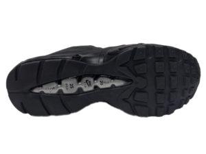 Зимние Nike Air Max 95 Low черные - фото подошвы