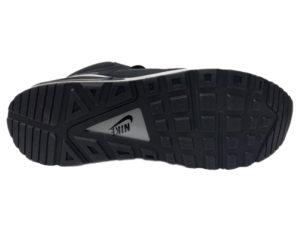 Зимние Nike Air Max 90 Skyline черные с белым - фото подошвы
