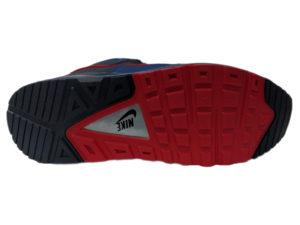 Зимние Nike Air Max 90 Skyline синие с красным - фото подошвы