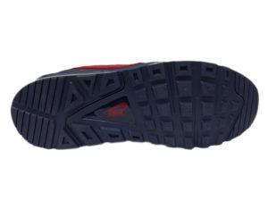 Зимние Nike Air Max 90 Skyline Low синие с красным - фото подошвы