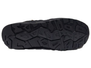 Зимние New Balance 580 черные - фото подошвы