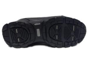 Зимние Adidas Climaproof Traxion Low черные - фото подошвы