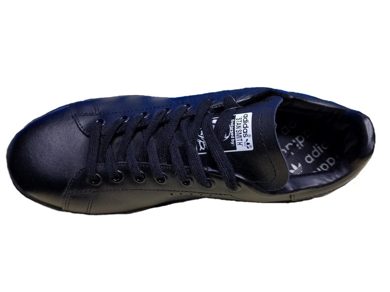48fd2bbc Купить Adidas Stan Smith черные кожаные - мужские и женские