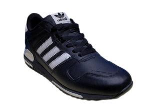 Adidas ZX 750 Leather черные с белым