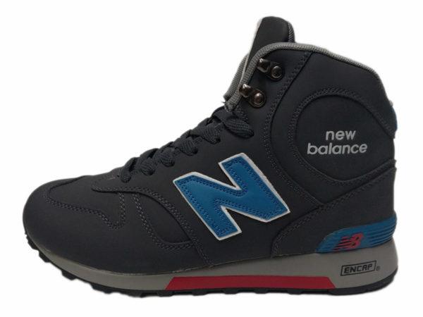 Серые кроссовки New Balance